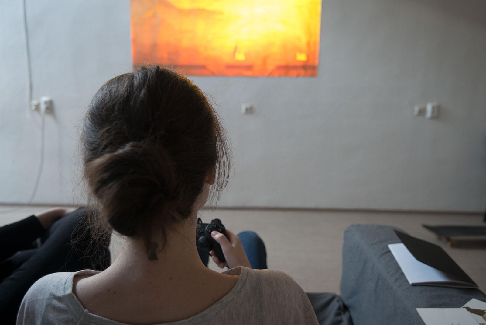 JAJA / Hranie na stene, grafický dizajn