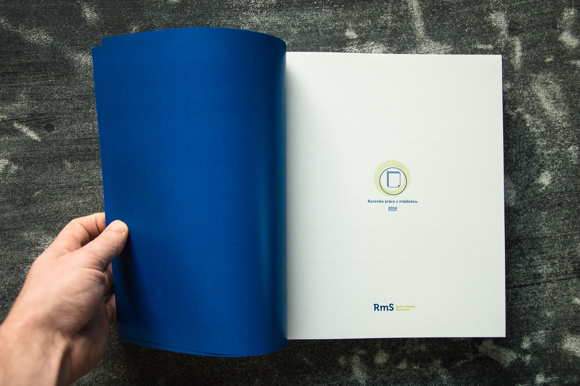 Ročenka mládeže, 2017, grafický dizajn, kniha