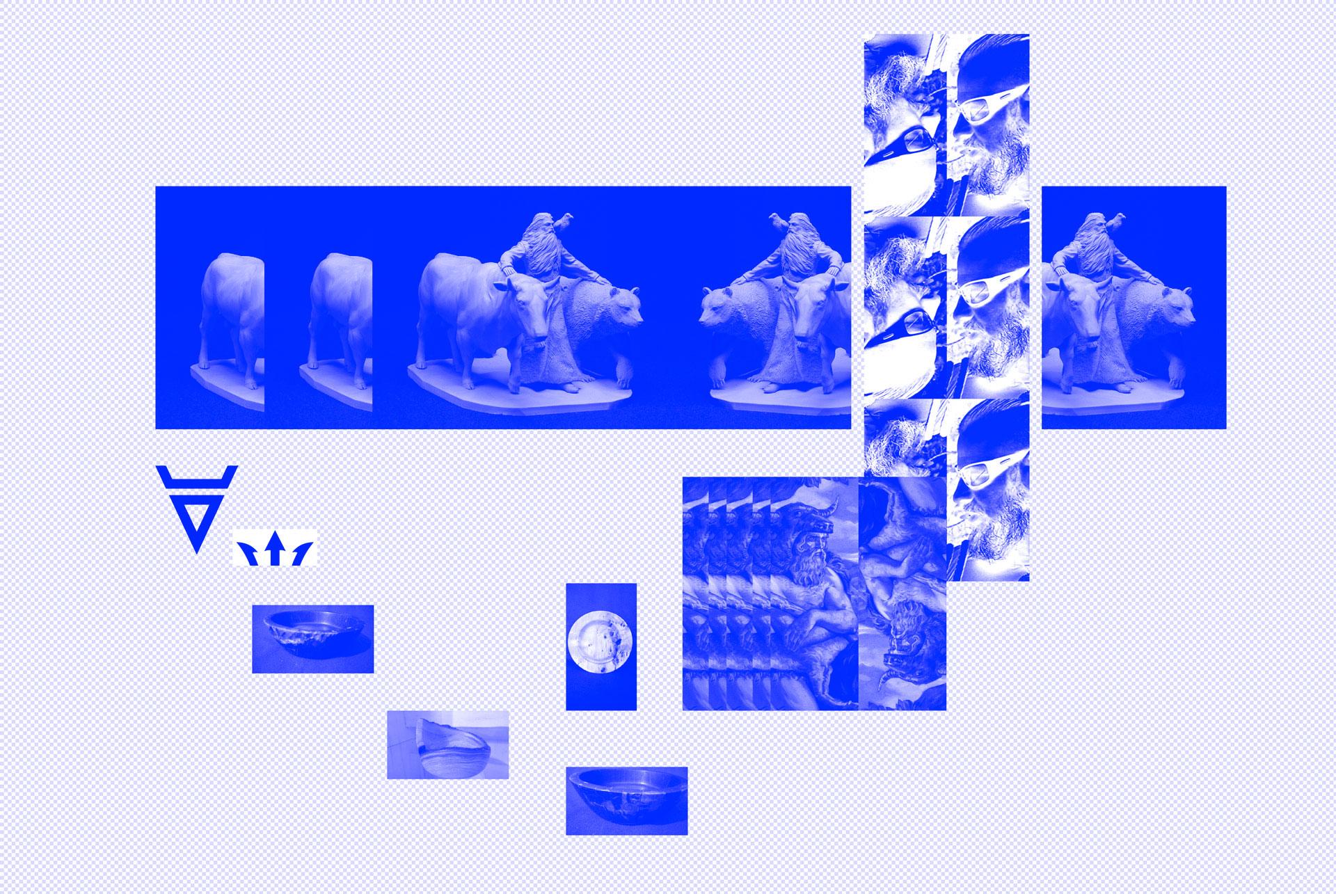 Veleswood, koncept, moodboard, grafický dizajn