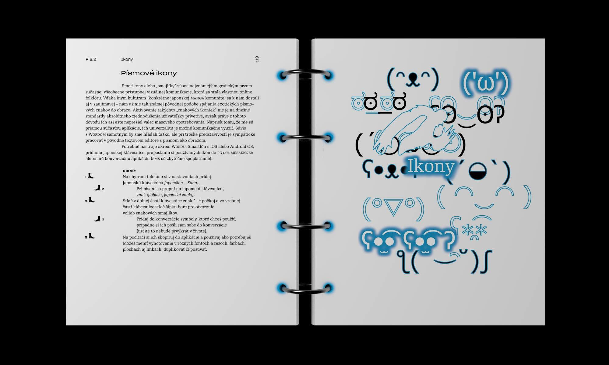 Microsoft Word kniha 1 grafický dizajn
